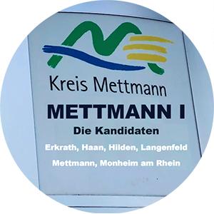 Mettmann 1 Button